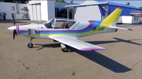 В Украине испытали новый самолет (видео) | podrobnosti.ua