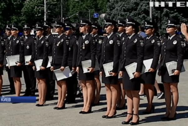 Национальная академия внутренних дел выпустила 700 молодых