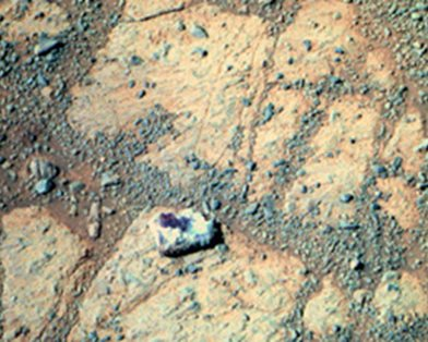 Американец подал в суд на NASA из-за загадочного камня на Марсе