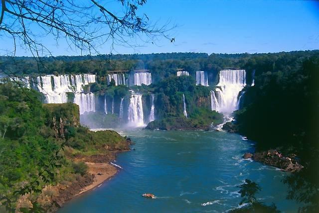 Wodospad Iguacu Wodospad Iguacu 2 Wirtualna Podr 243 ż Po