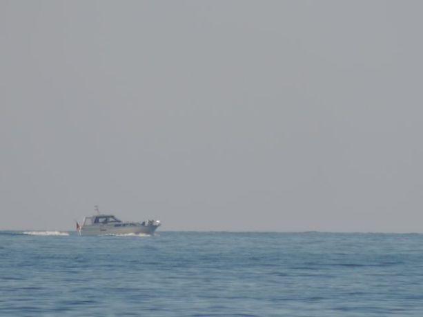 Może i nie okręt ale kto maluje na szaro jacht :)