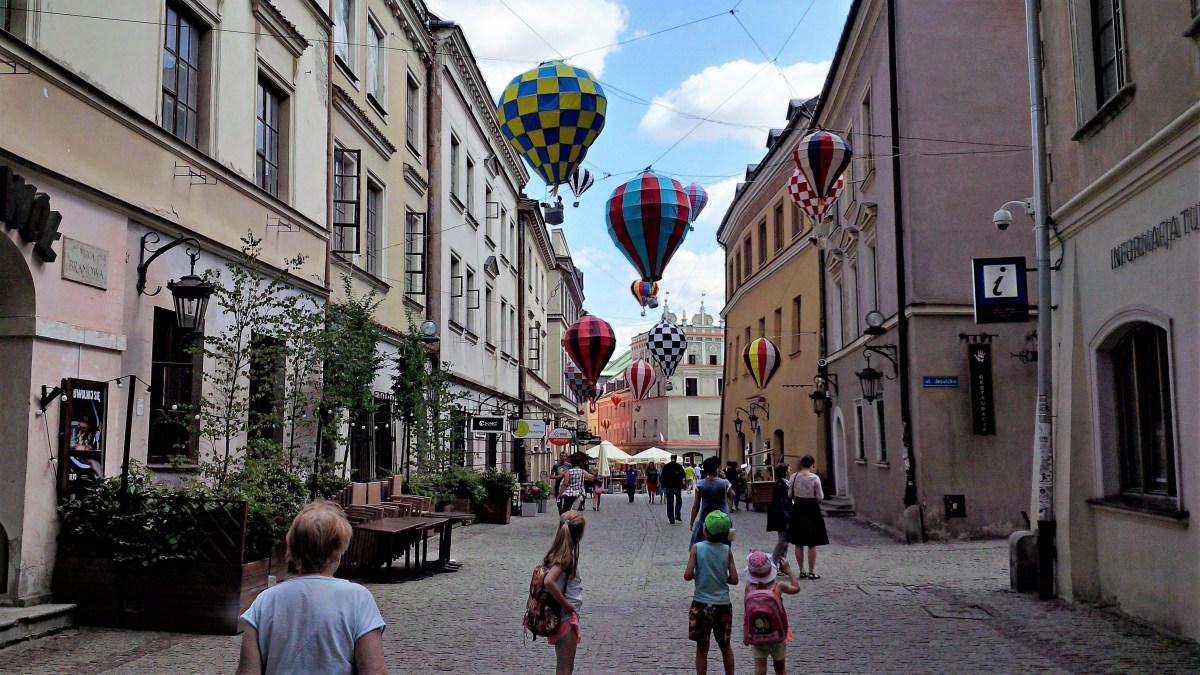 Lublin z dzieckiem na weekend