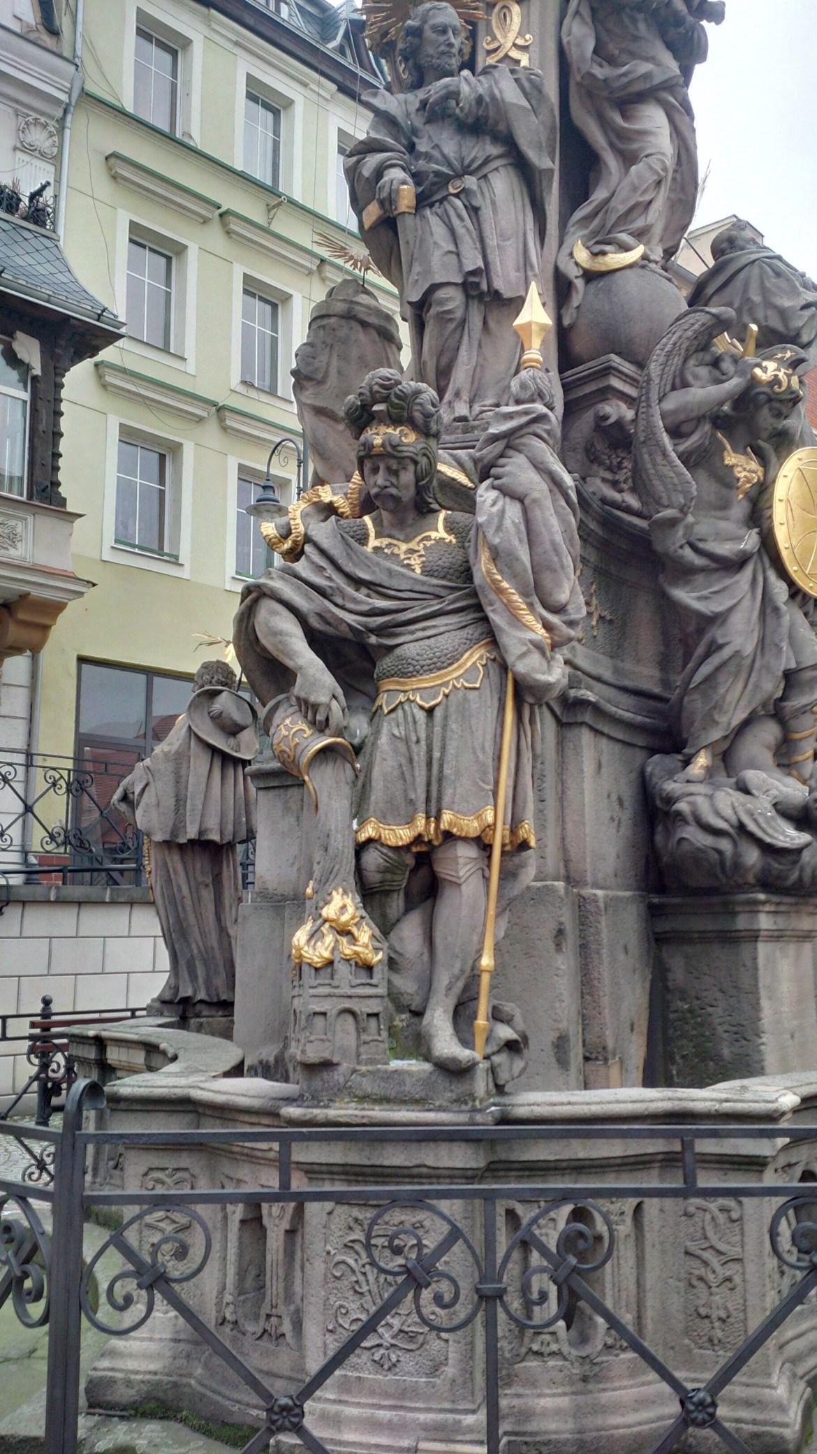 święty Florian Bystrzyca Kłodzka