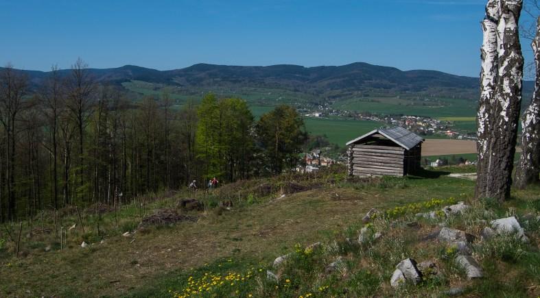 Bozi hora; widok; kraj olomoucký; Kraj ołomuniecki atrakcje; góry rychlebskie; RYCHLEBSKÉ HORY; sudety