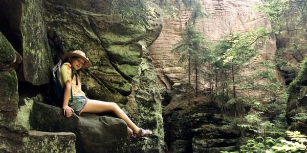 Skały Prachowskie; Czeski Raj; skały; skalne miasto; Czechy
