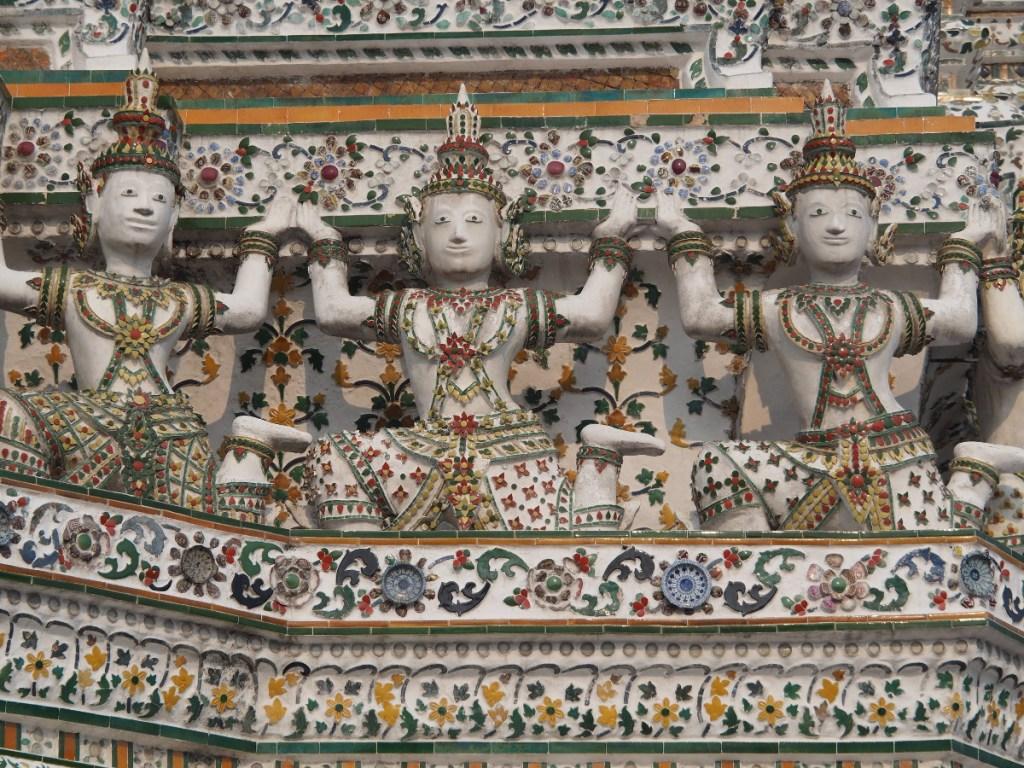 Wat Arun, świątynia Świtu, 10 najciekawszych atrakcji Bangkoku, czyli 2 dni w tajskiej stolicy, Bangkok, Tajlandia
