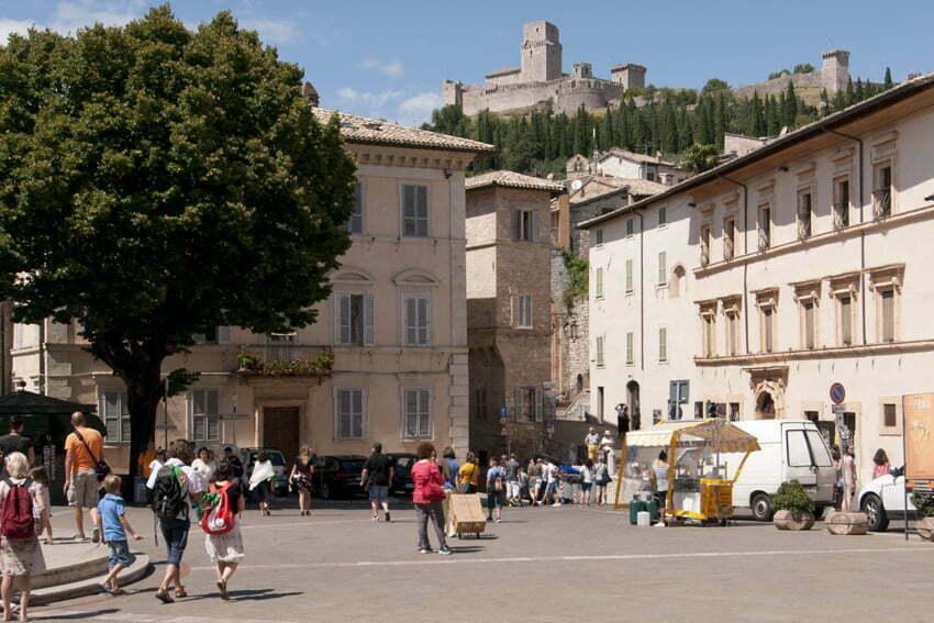 Asyż: miasto św. Franciszka