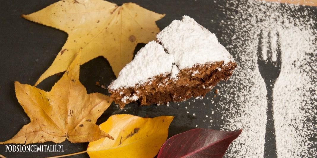 Ciasto kakaowe z mąki kasztanowej