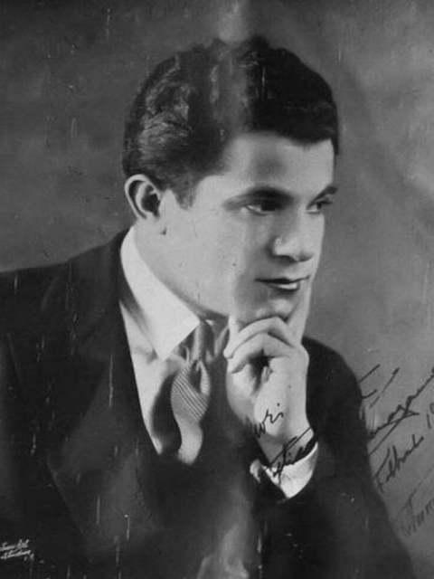 Salvatore Ferragamo w 1929 roku - zdjęcie pochodzi z magazynu Gran Sport n. 4 1929