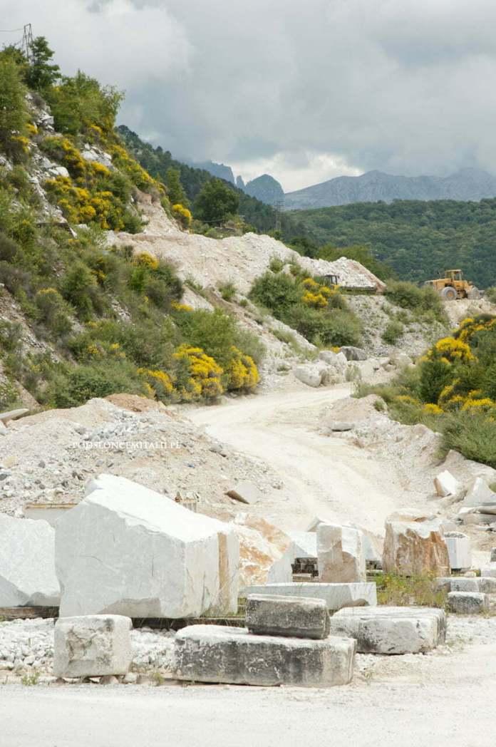 kamieniołomy marmuru karraryjskiego