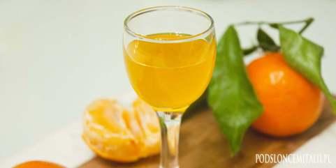 Mandarinetto - przepis na likier z mandarynek