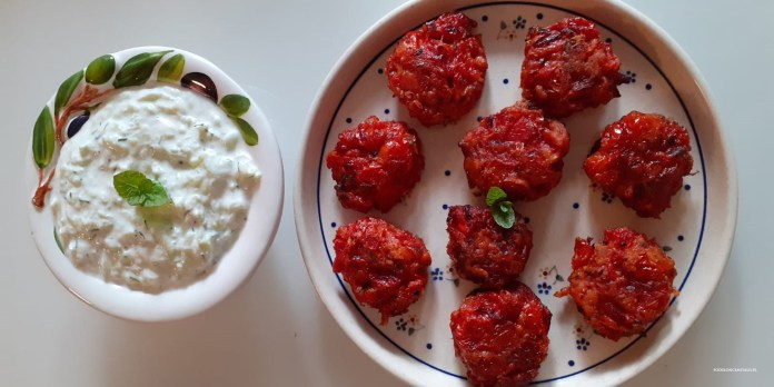 Pulpety z pomidora - greckie delicje