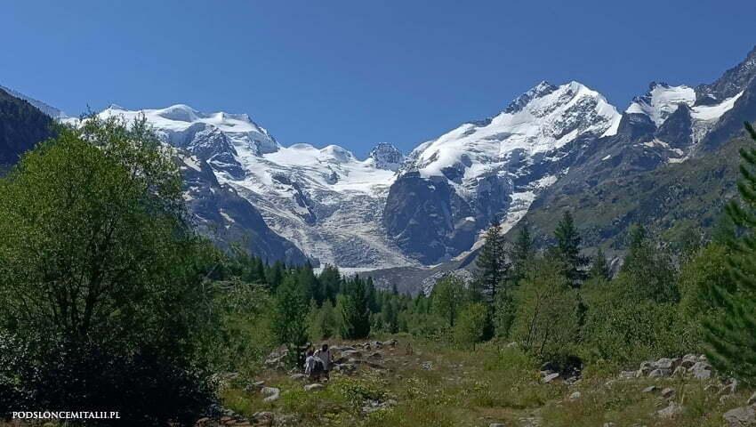 lodowiec Morteratsch