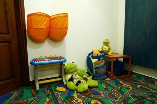 Bezpieczny pokój zabaw dla dzieci