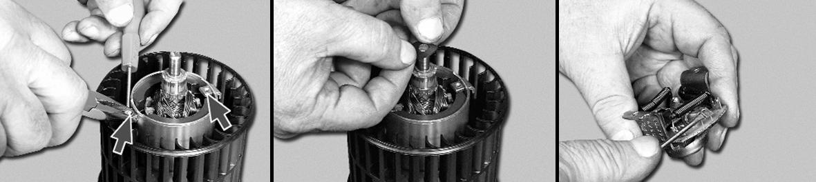 Разбор коллекторного электродвигателя
