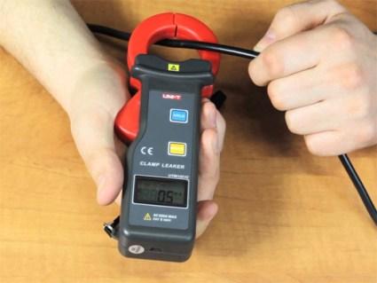 Измерение тока с помощью клещей
