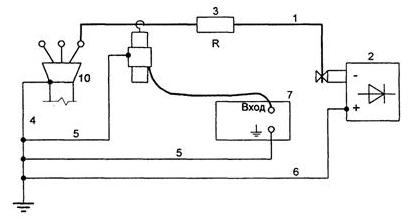 Прибор ЦР0200 и его схема подключения