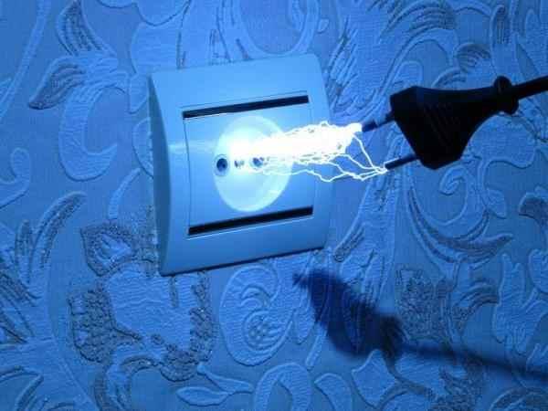какая сила тока в розетке 220