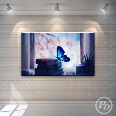 Tablouri canvas cu fluturi