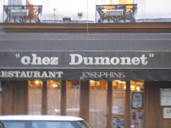 """Josephine """"Chez Dumonet"""" Paris"""