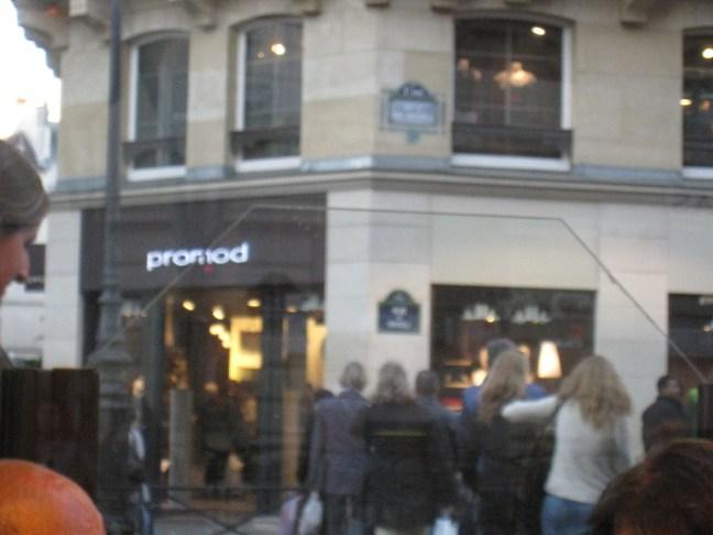Paris shopping - Promod