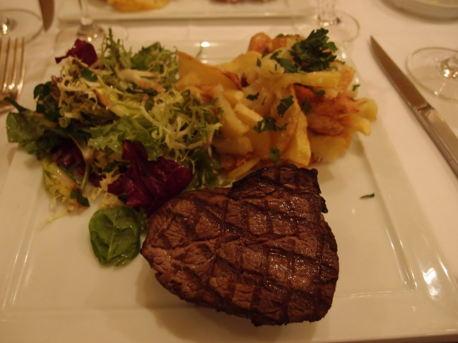 """Steak at Josephine """"Chez Dumonet"""" Paris"""