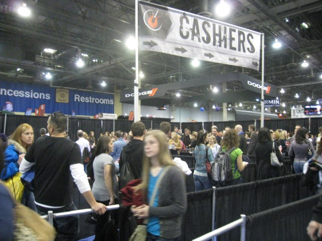 Cashier lines