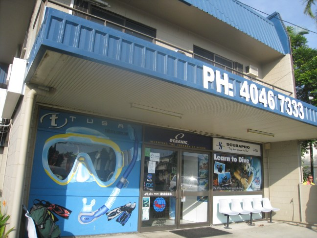 Deep Sea Divers' Den in Cairns
