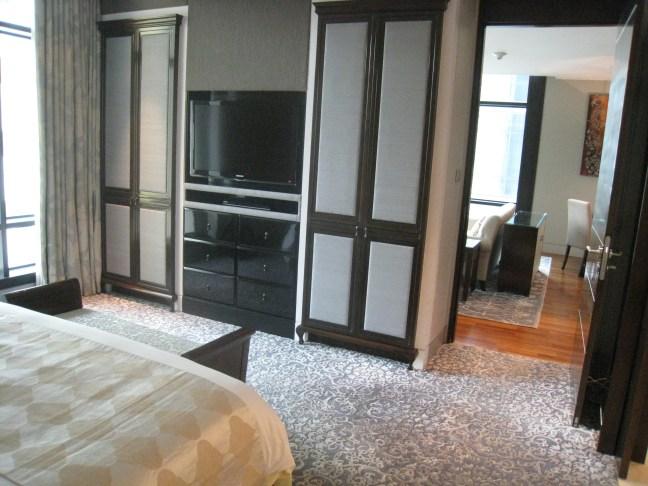 Bedroom of the Caroline Astor Suite, St. Regis, Bangkok