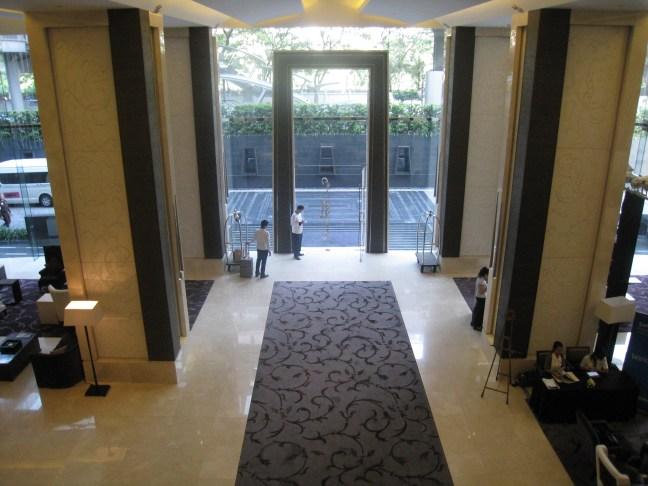 Lobby at the St. Regis, Bangkok