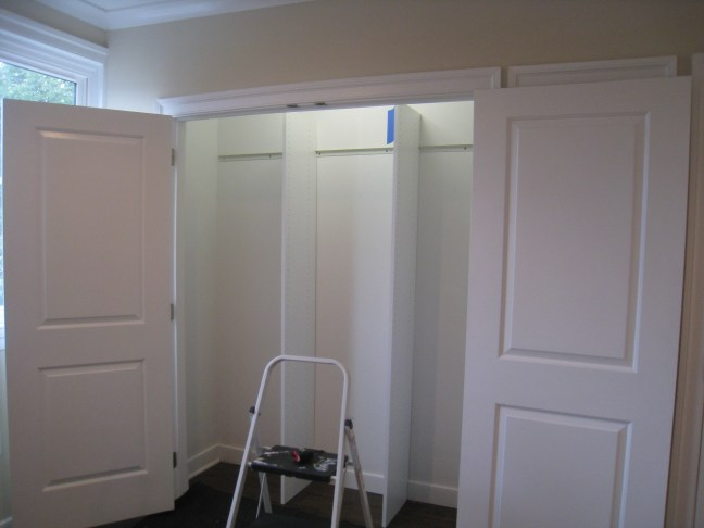 before closets