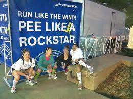 running pee