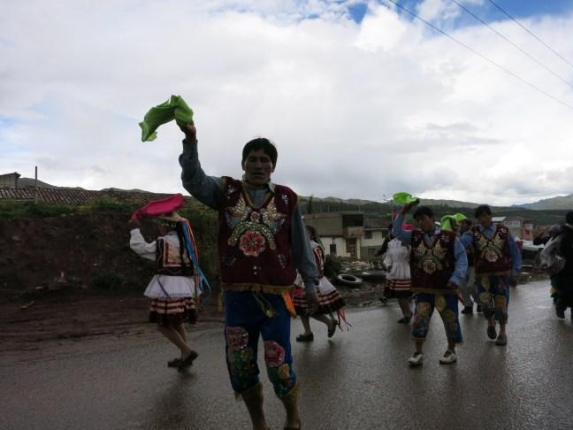 Peru procession