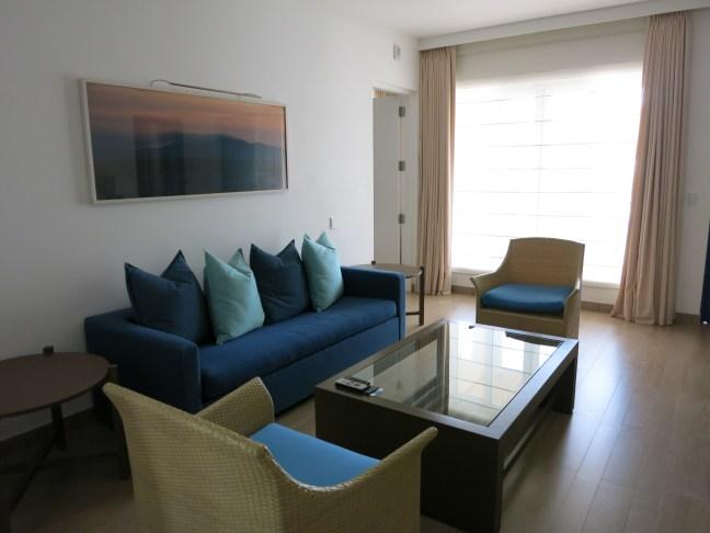 Living room at Hotel Paracas Peru