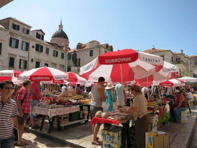 Dubrovnik's farmer's market