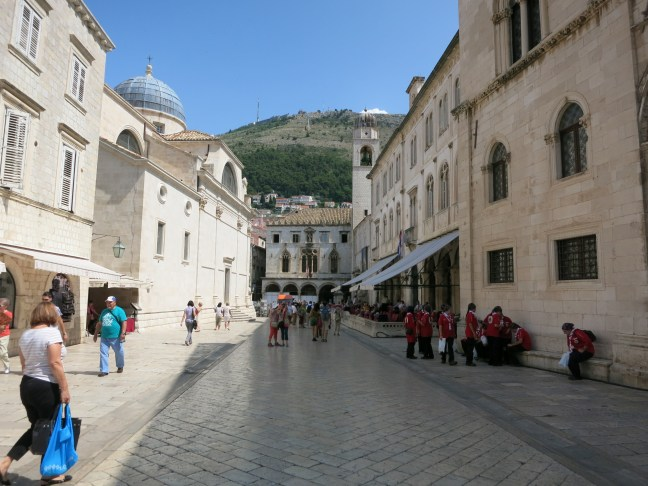 Stradun in Old Town, Dubrovnik, Croatia