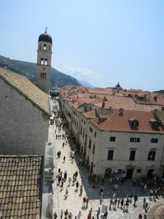 Dubrovnik's Stradun Street in Old Town