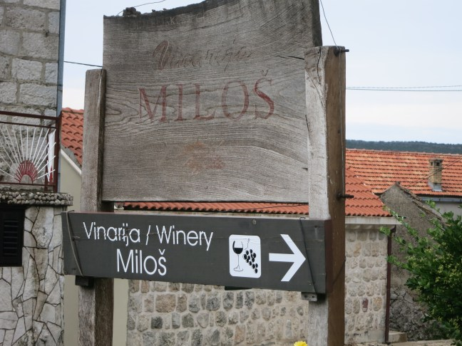 Vinarija Milos winery in Croatia