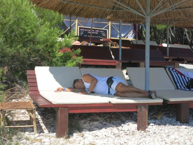 Carpe Diem party beach, Croatia