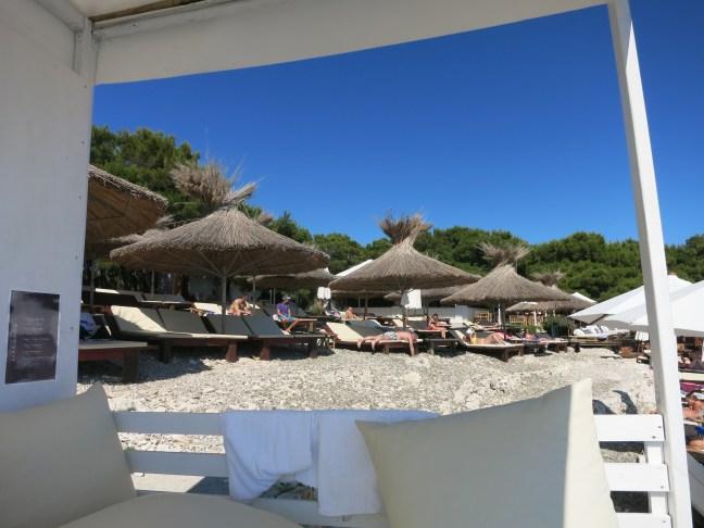 Carpe Diem party island, Hvar Croatia