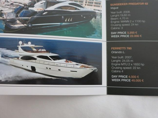 Croatian boat rentals