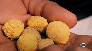 gold pellets