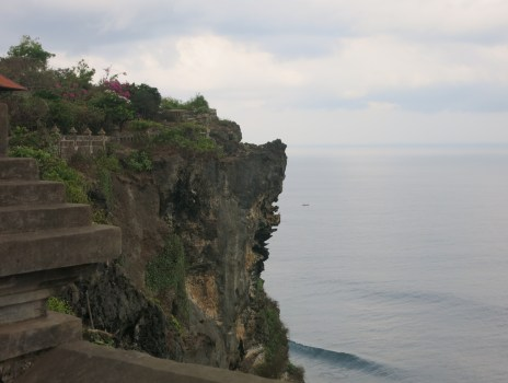 Uluwatu Temple in the morning.