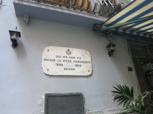 Pizza at Brandi's in Naples