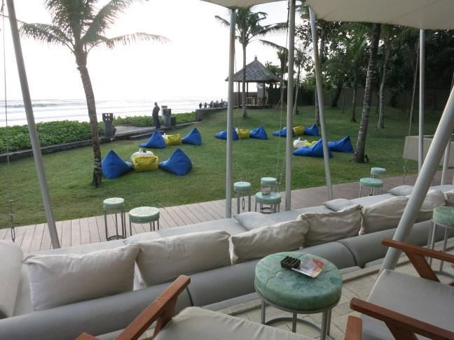 W Hotel Bali deck bar