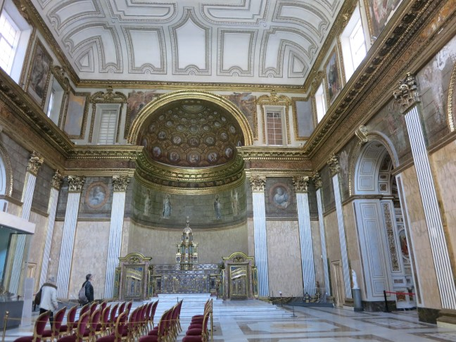 Chapel at the Royal Palace, Naples