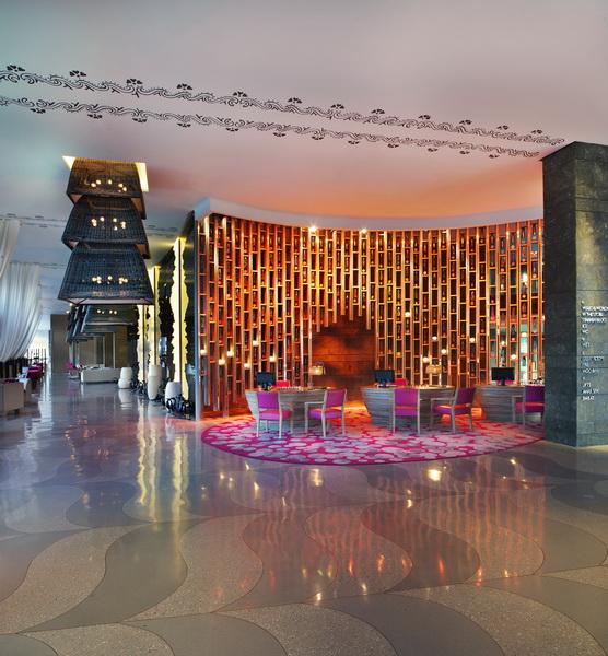 Reception at the W Hotel Bali