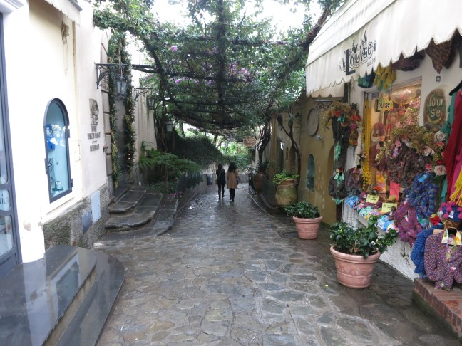 Meandering in Positano.