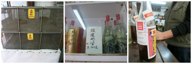 snake wine in Hong Kong