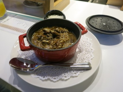 Pamplona - Cocotte Taberna foie gras risotto